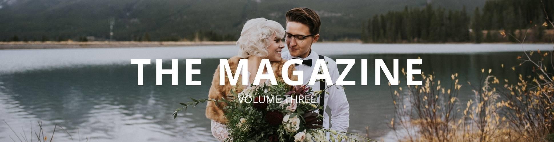 Same-Sex Wedding Directory - Dancing With Her - Lesbian Wedding volume three print magazine