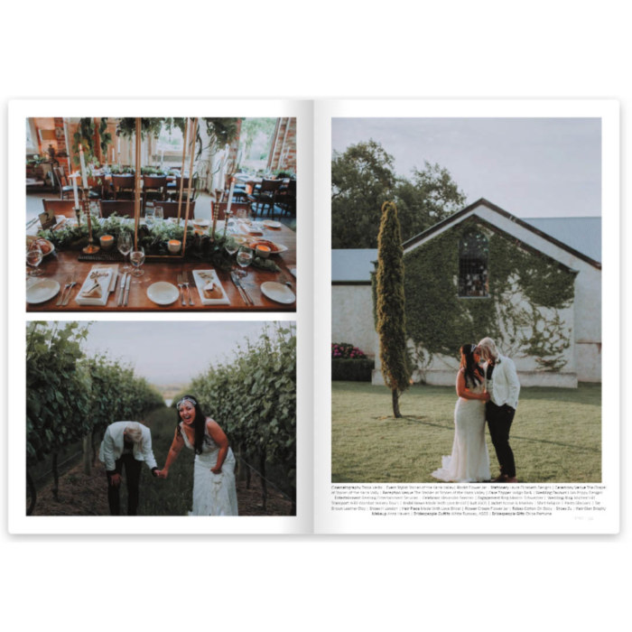 Dancing With Her Magazine - Lesbian Weddings