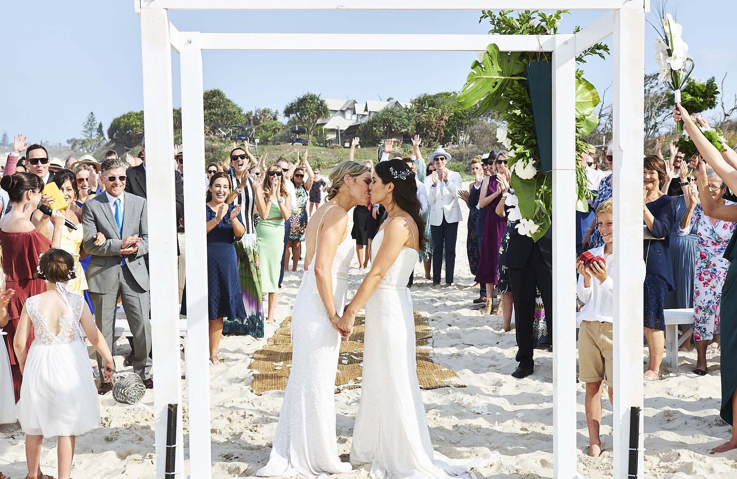 Love For Life Byron Bay Ballina Northern New South Wales Australia lesbian same sex gay couple wedding elopement Celebrant Dancing With Her wedding directory