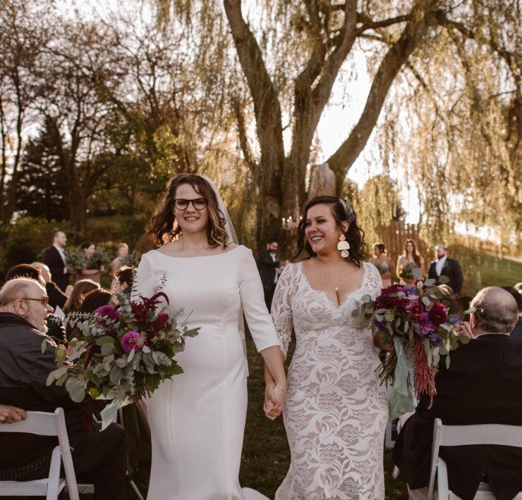 Adventure Instead - Pennsylvania Lesbian Wedding - Farm Wedding Inspiration