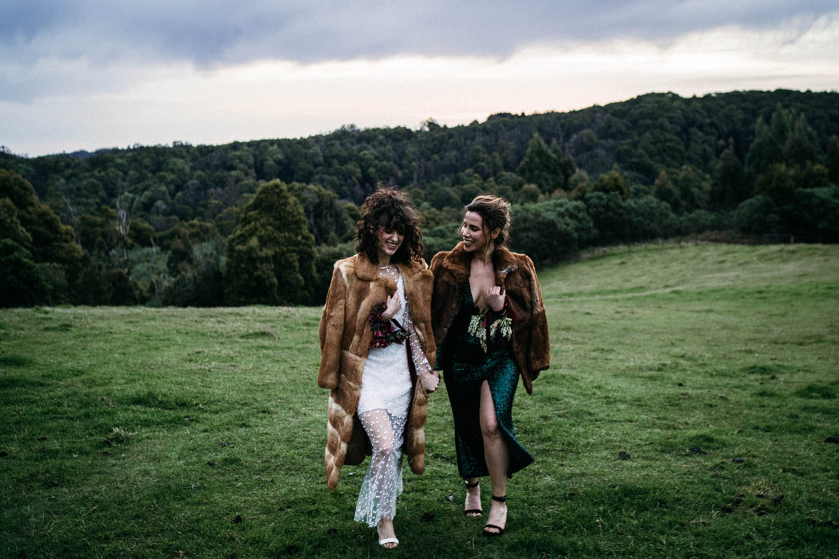 Anna Taylor Lulu _ Lime LGBT+ Queer same-sex wedding and elopement photography Melbourne, Victoria Dancing With Her (1)