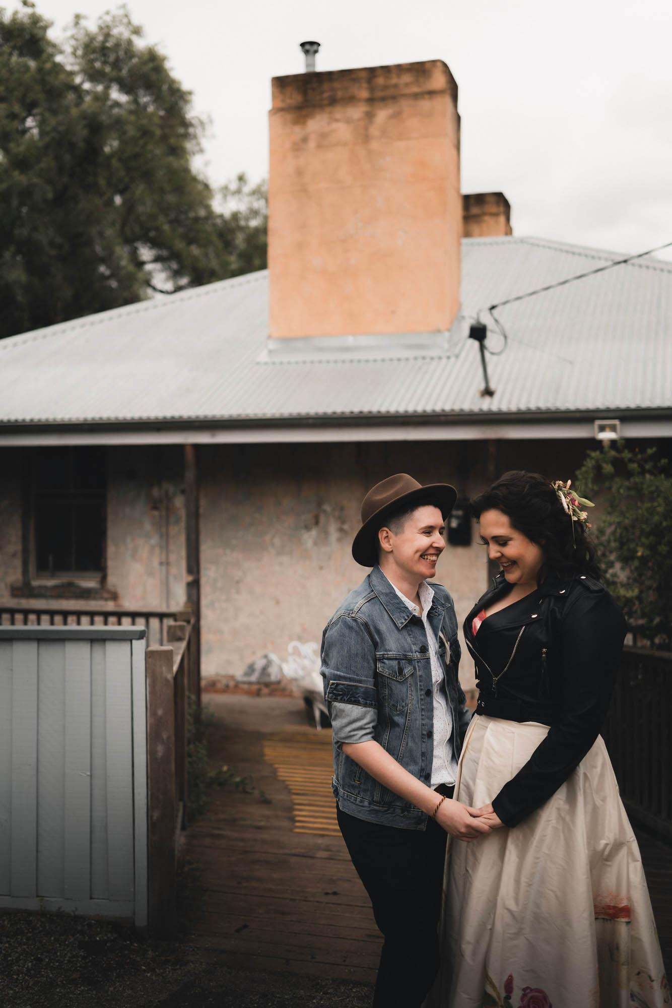 Collingwood Childrens Farm Wedding - Same-Sex Wedding Inspiration Melbourne