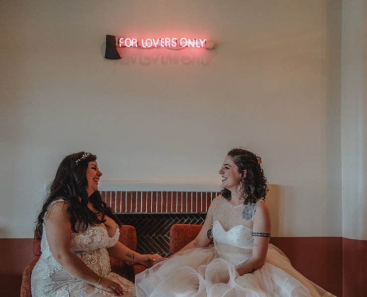 Cortnie Dee Photography - Texas Same-Sex Wedding Photographer - Dancing With Her