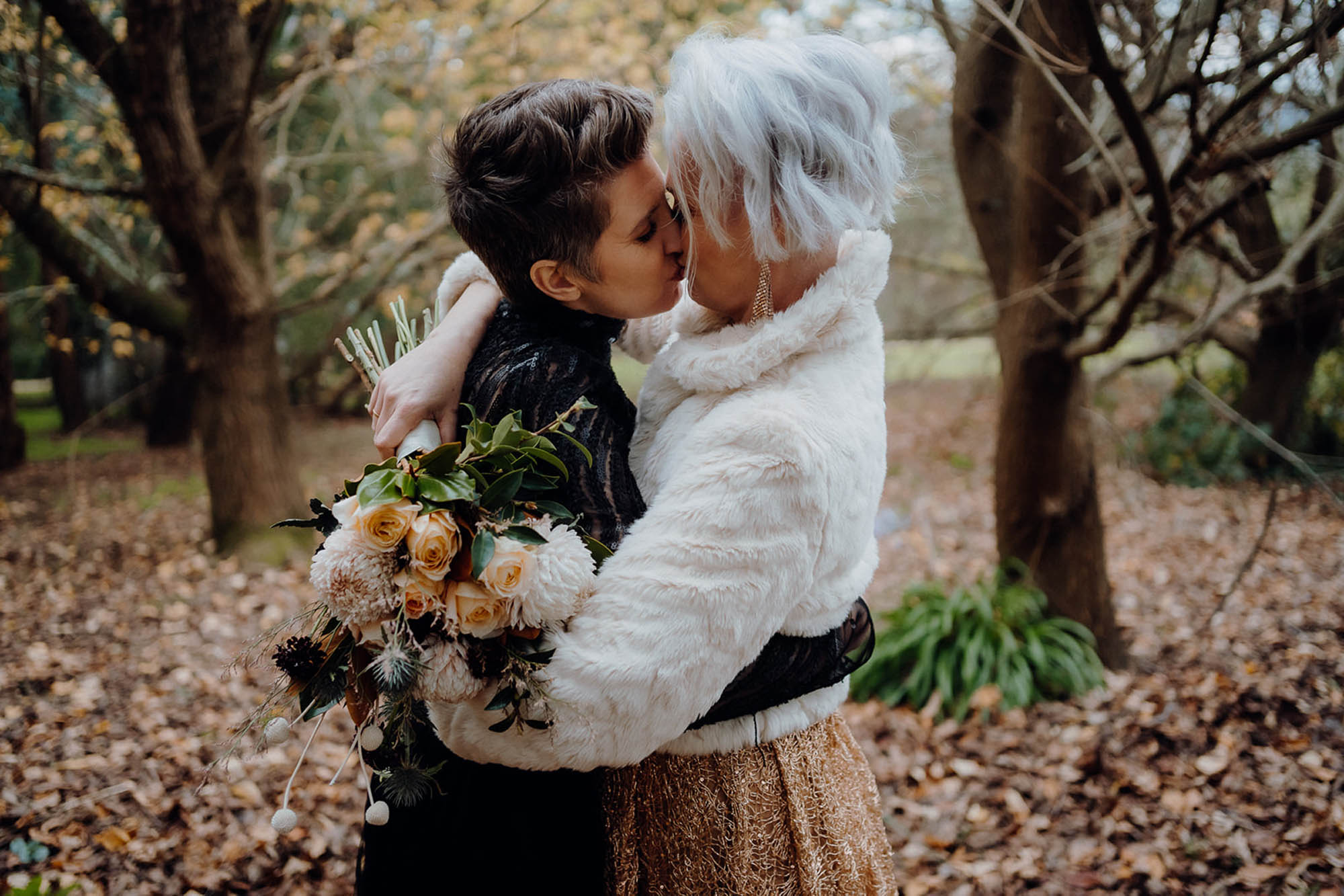 Winter Wedding Inspiration - Lesbian Wedding Inspiration - Melbourne Weddings