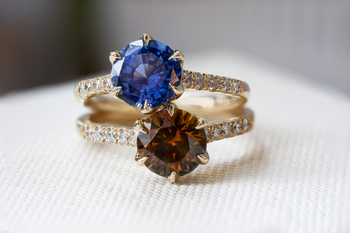Emily Chelsea Jewelry Philadelphia United States of America gold precious gemstones lesbian gay queer wedding engagement rings bands accessories Dancing With Her wedding directory