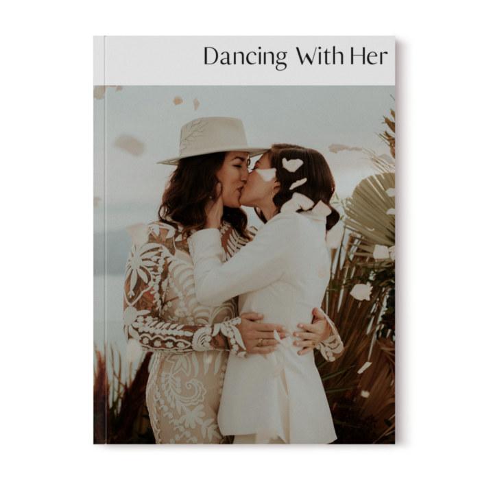 Dancing With Her digital print magazine lesbian gay wedding volume eight