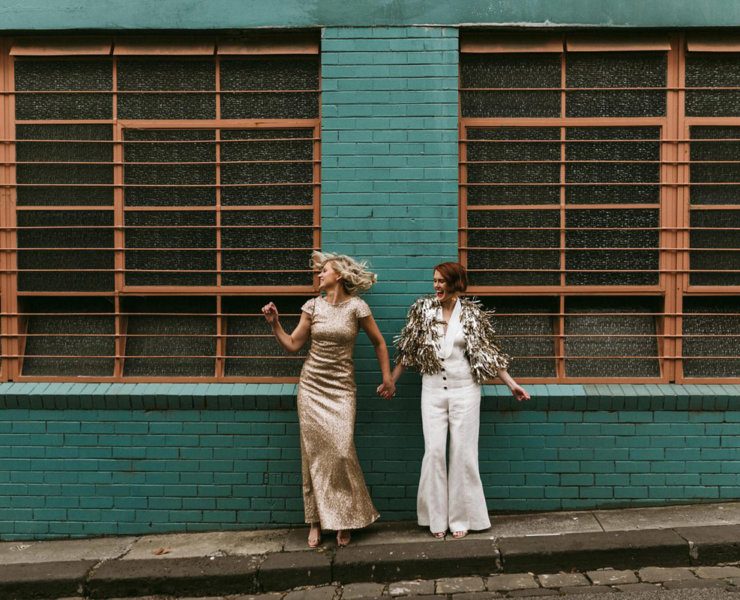 Gold and Grit Stina Evjan same-sex wedding, engagement photographer Melbourne Victoria Dancing With Her wedding directory