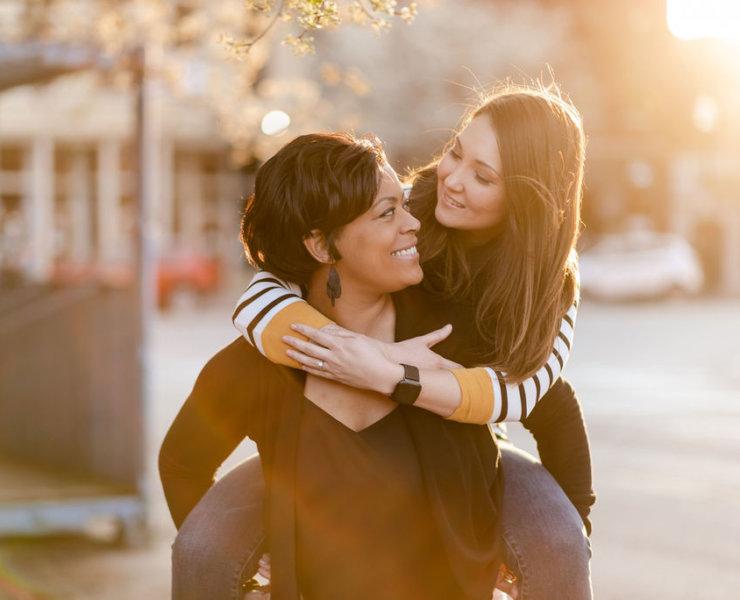 Harry Potter Proposal - Cleaveland Lesbian Engagement - Jodi Hutton Photography - Cleveland Ohio