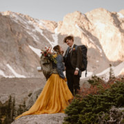 Rocky Mountains Lesbian Elopement - Adventure Instead - Dancing With Her