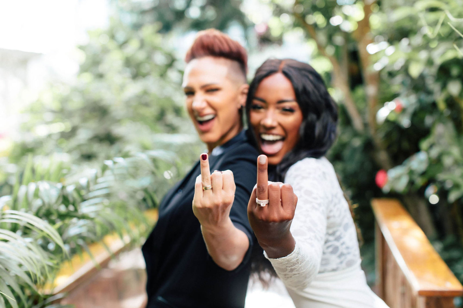Black queer lesbian - Florida Wedding Photogrpahy - Dancing With Her