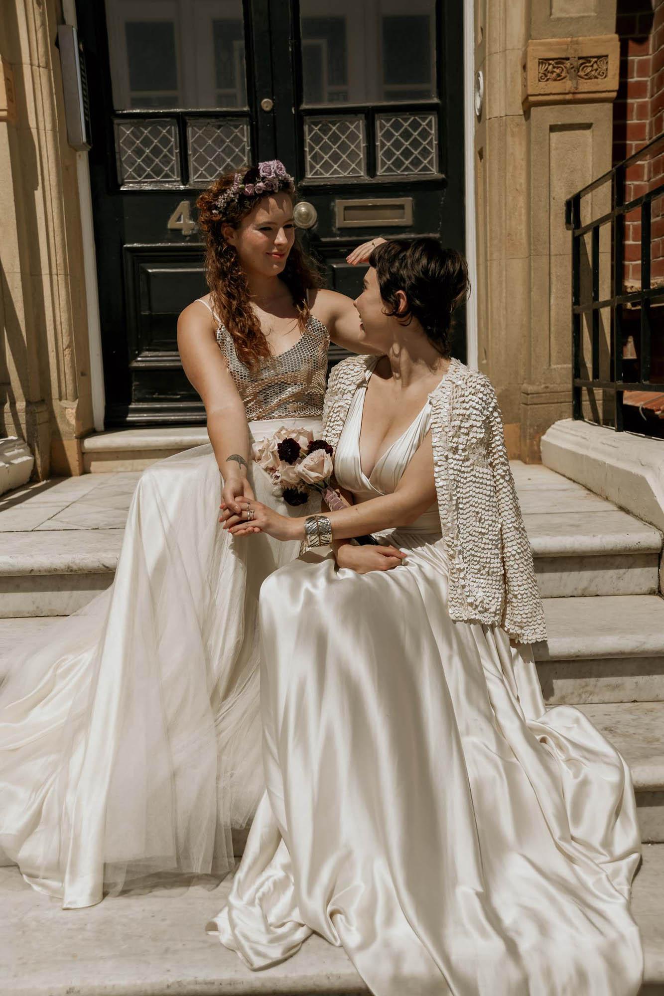 Ethereal Wedding Inspiration - Lesbian Wedding - England