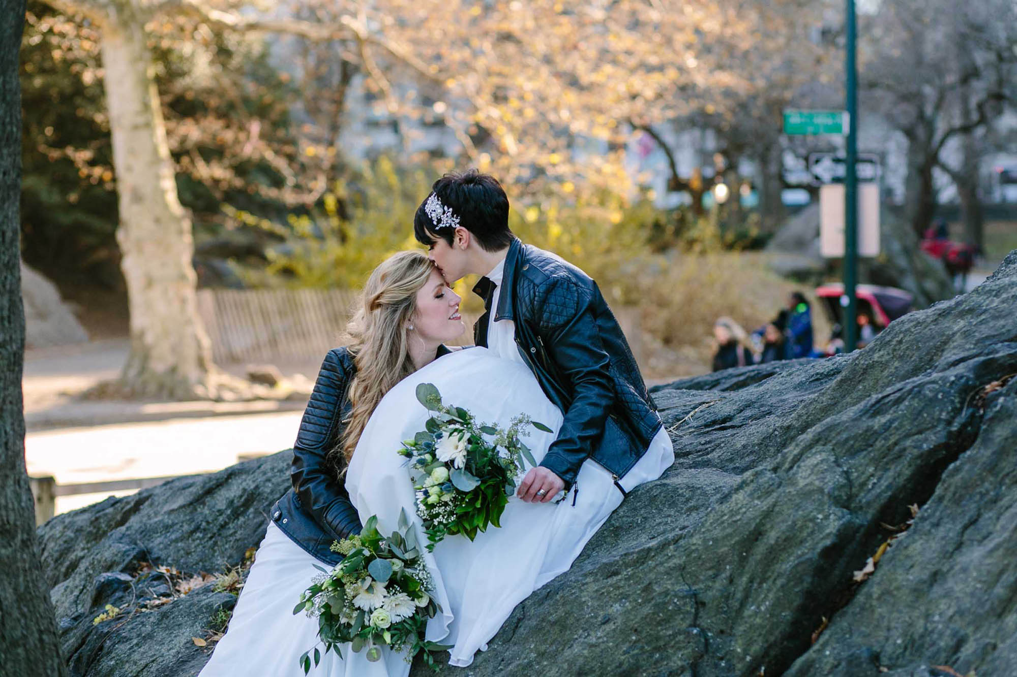 Intimate Central Park Wedding - New York - Dancing With Her