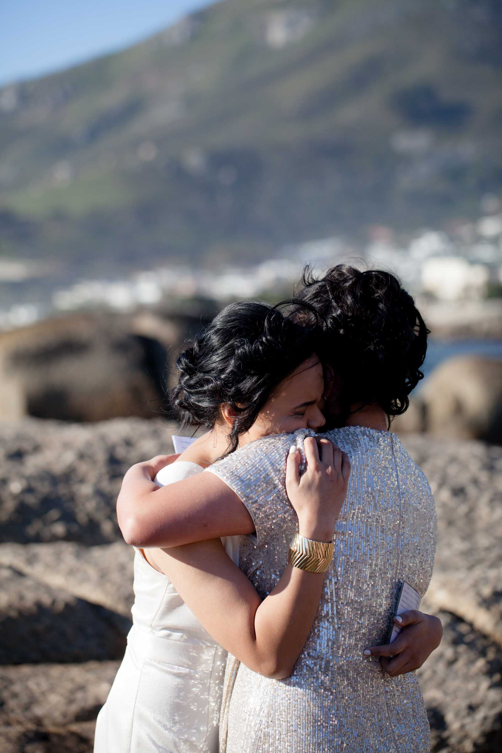 Intimate Lesbian Beach Wedding in South Africa - Dancing With Her