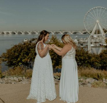 Maryland Lesbian Wedding - Kenz and Nick - Brunch Wedding Inspiration