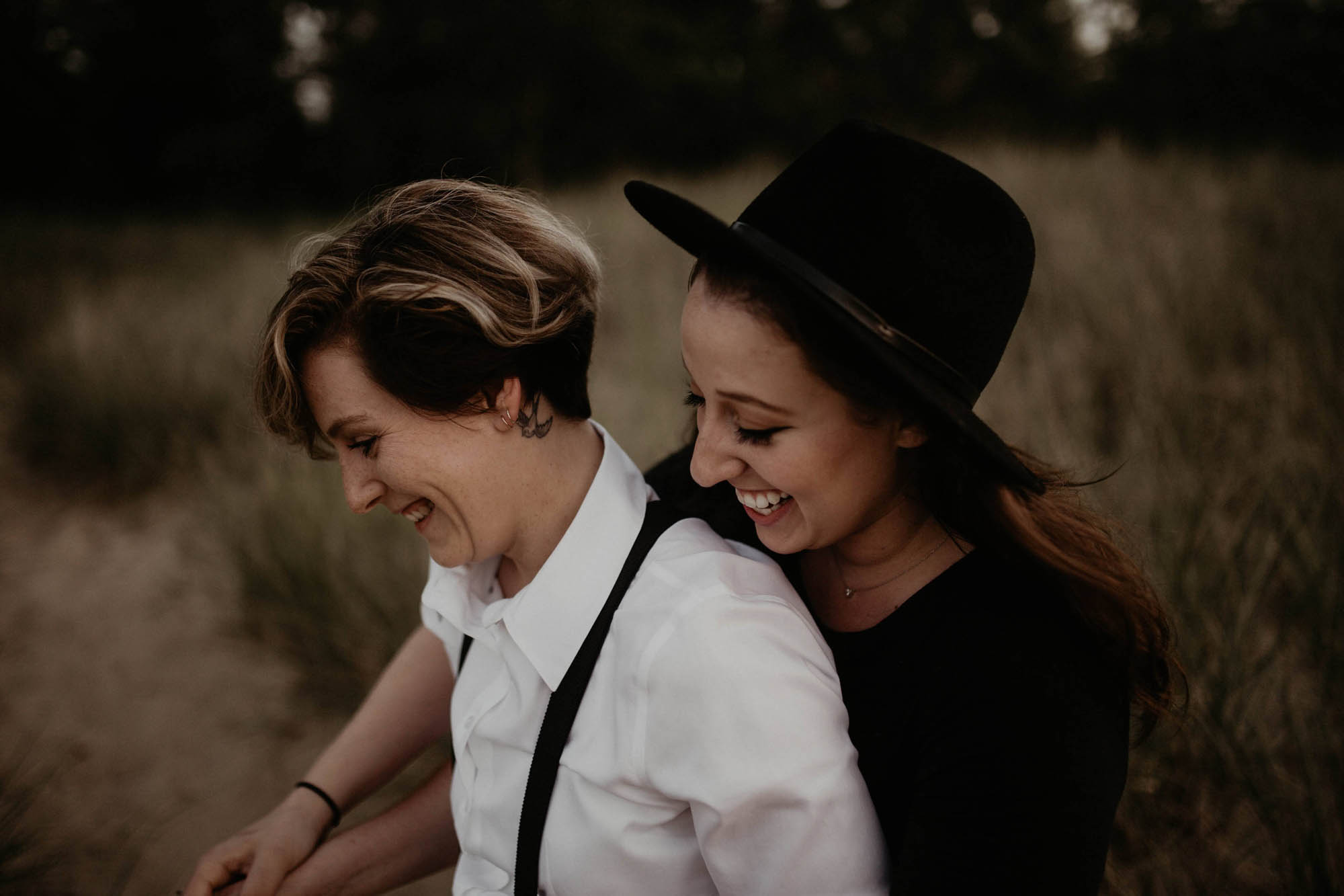 Lesbian Engagement in Illinois - Made to be Mine - Wedding Photographer