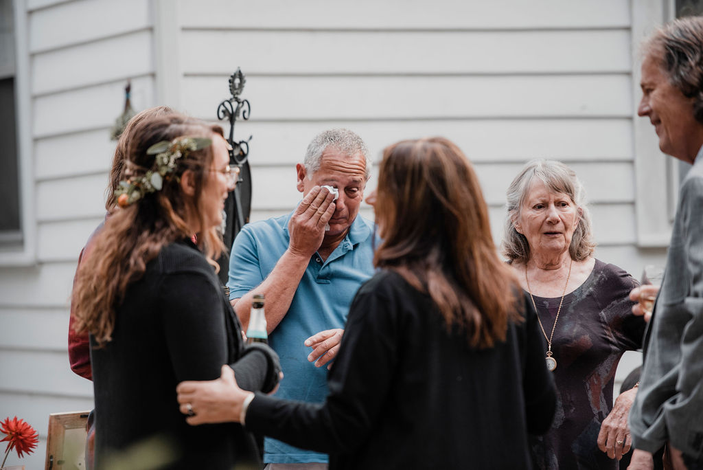 Love Sunday Photography - Connecticut Forest Wedding - Lesbian Wedding