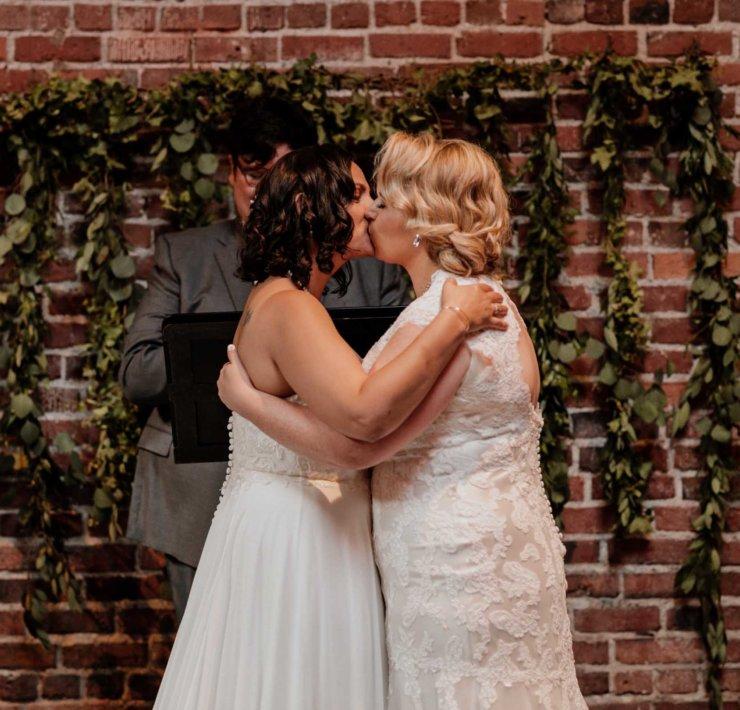Seattle Wedding - Lesbian Ballroom Wedding - Olive and Opal Photography
