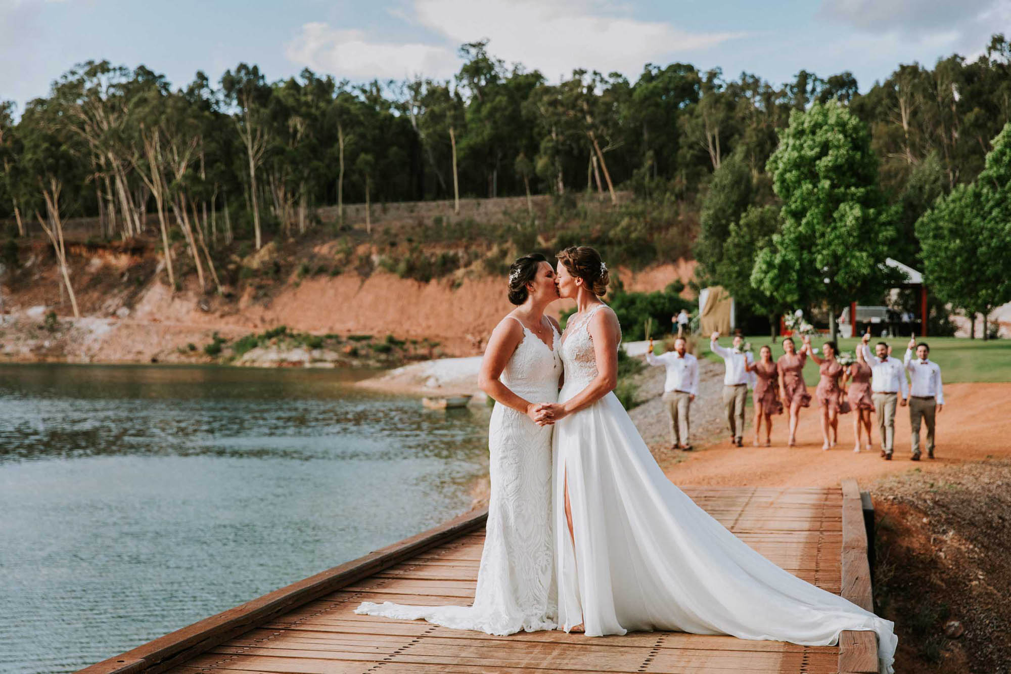 Garden Wedding in Perth - Jessica Wyld Photography - Dancing With Her