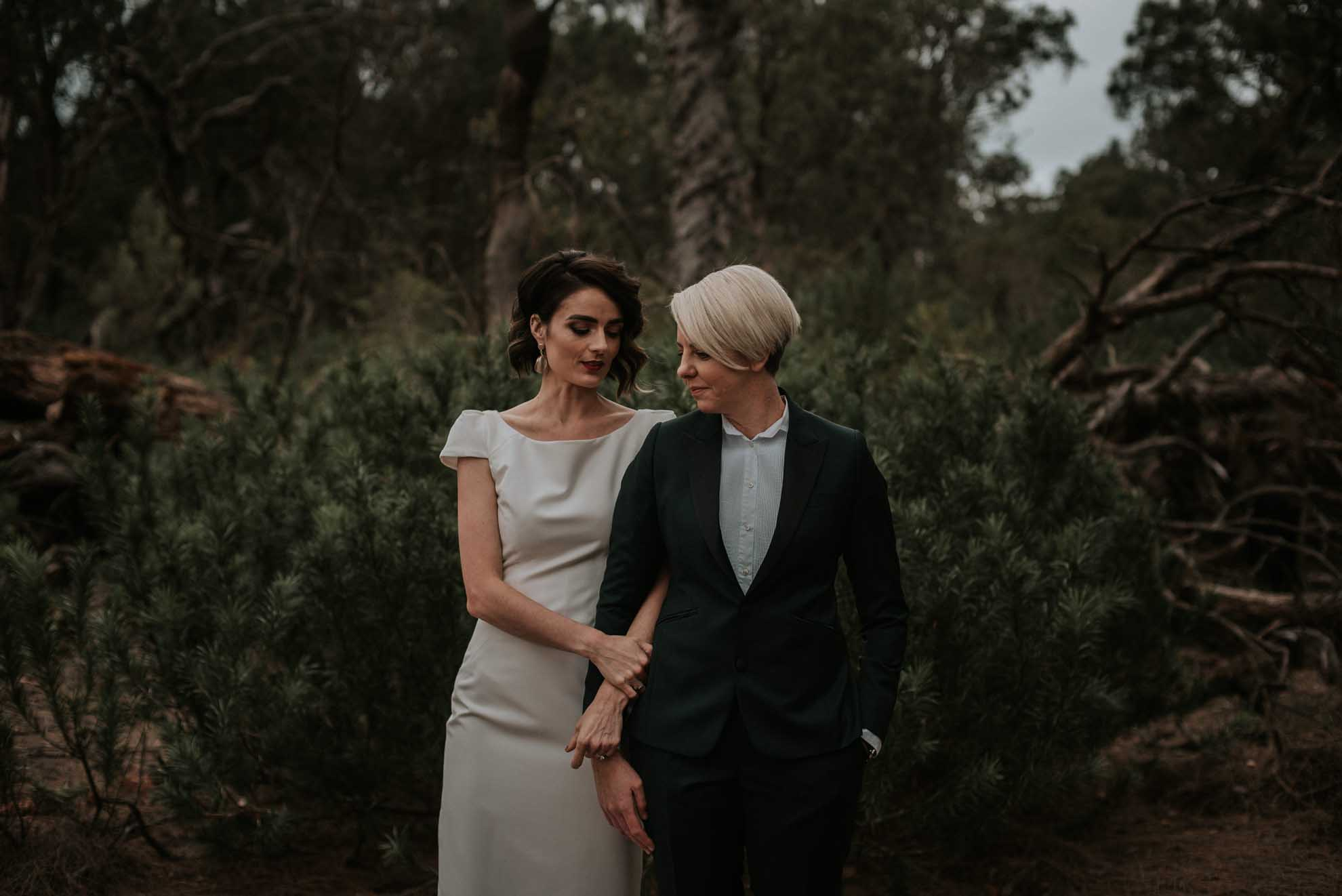 Shannon Stent Western Australia Margaret River same-sex wedding, engagement and couples photographer Dancing With Her magazine directory