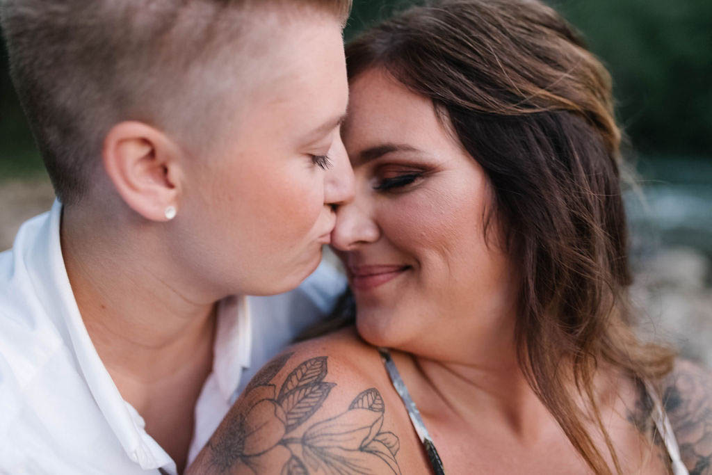A Queer Proposal in Tennessee - Same-Sex Engagement - Dancing With Her
