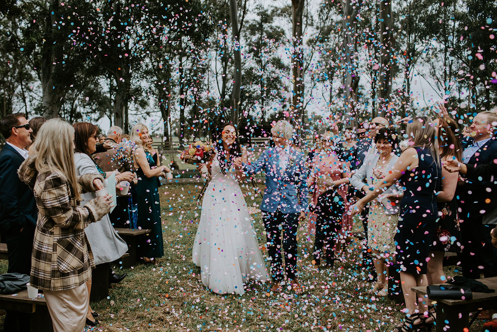 Backyard Farm Wedding - Lesbian Wedding Inspiration - Dancing With Her - Emily Howlett Photography
