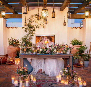 Fairytale Boho Inspired Wedding - Willa Kveta Photography - California - Lesbian Wedding