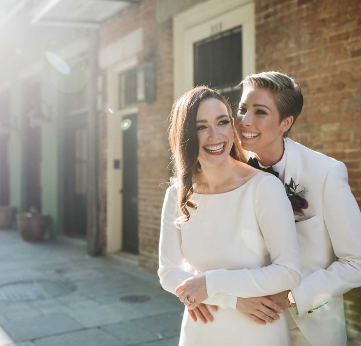 Hannah Pickle Photography New Orleans America two brides wedding Dancing With Her