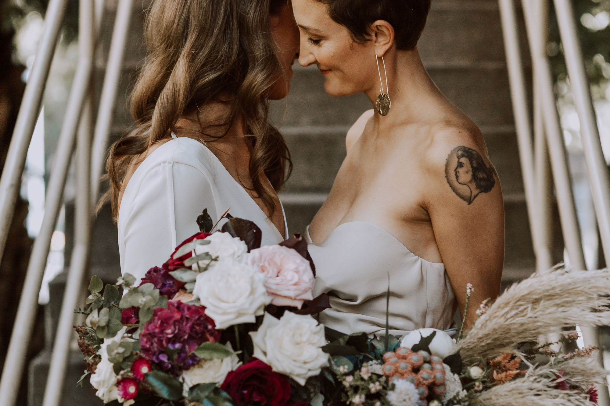 Jackson Grant Weddings - Melbourne Wedding Photographer - LGBTQ - Dancing With Her (31)