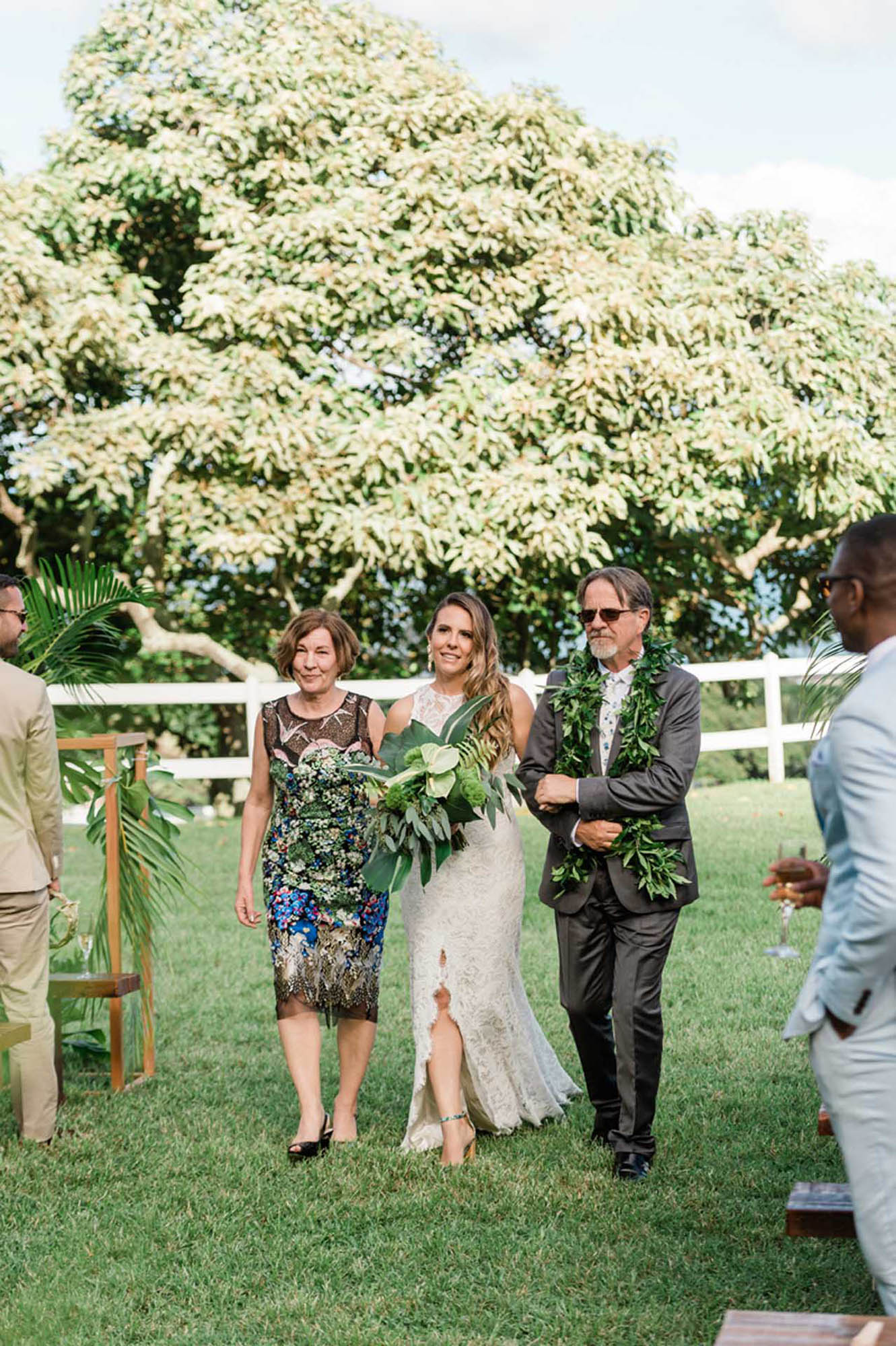 Tropical Lesbian Wedding in Hawaii - Dancing With Her