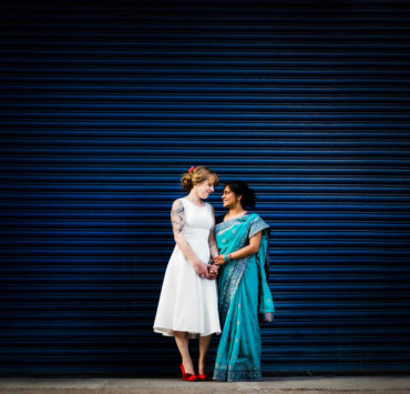 Lee Meek Photography London - Interracial Indian Same-Sex Wedding - Dancing With Her