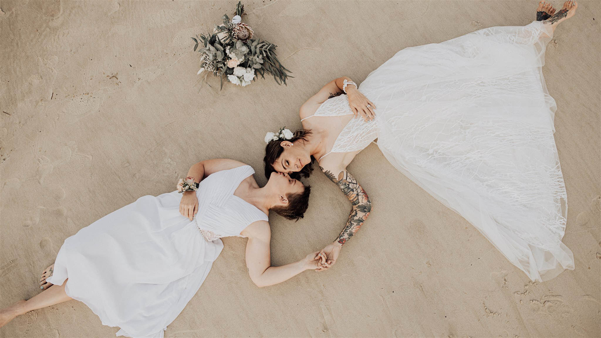 Lesbian Byron Bay Elopement - Bird and Boy Photography