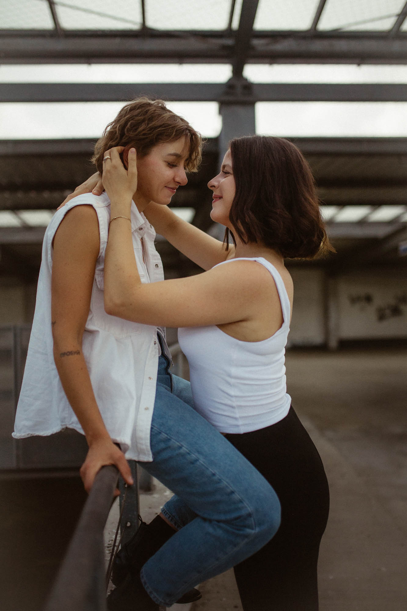 Lesbian Love Story - Berlin Germany - Dancing With Her