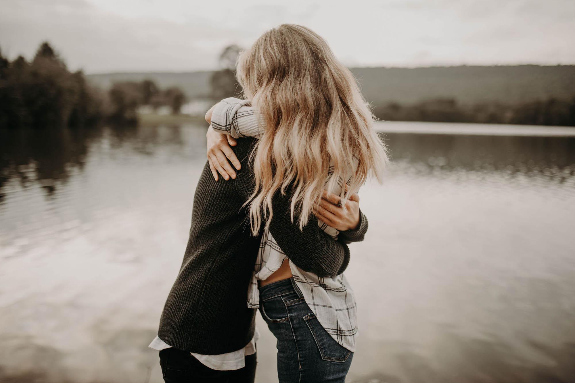 Lesbian Outdoor Proposal - Dancing With Her - Garnet Dahlia Photography