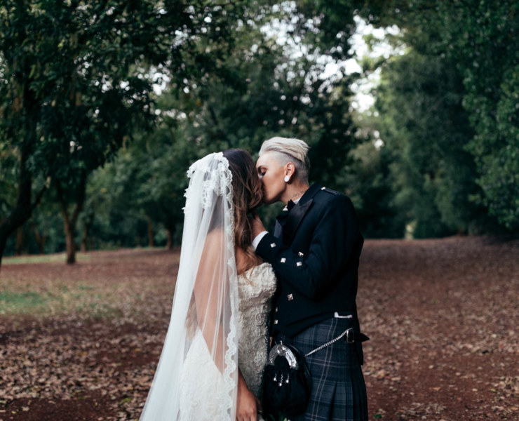Boho Byron Bay Same-Sex Wedding - Melissa Findley - Dancing With Her