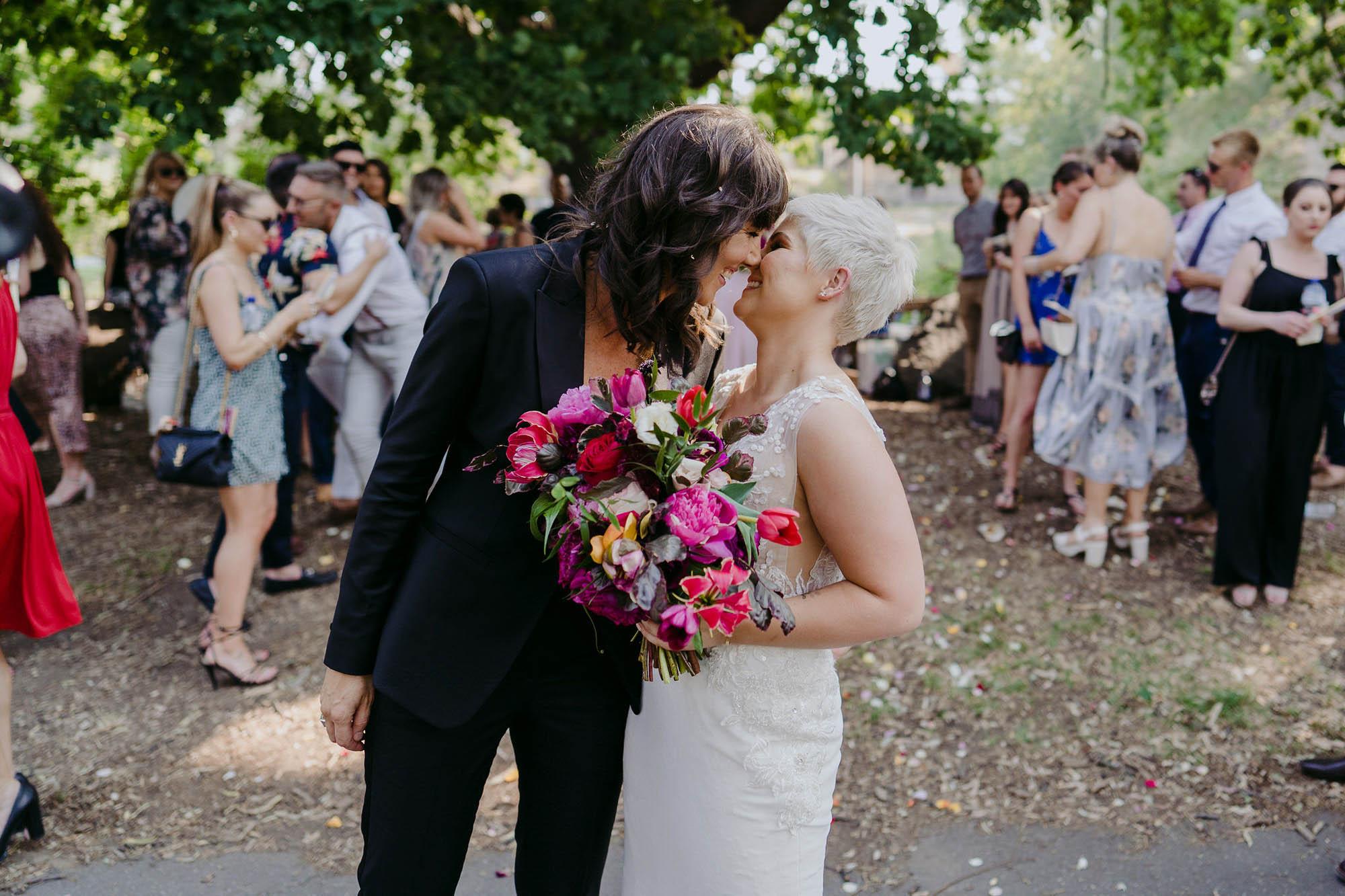 Michael Briggs - Melbourne Wedding Photographer - Queer Wedding