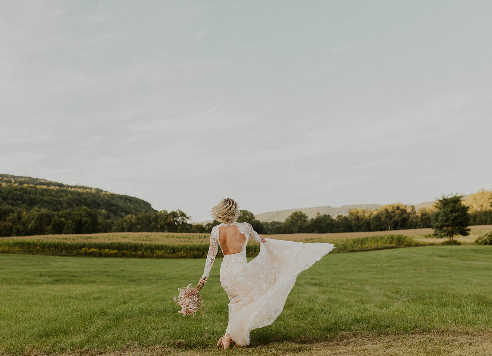 LostisFound Photography - Modern Feminine Lesbian Wedding - Dancing With Her