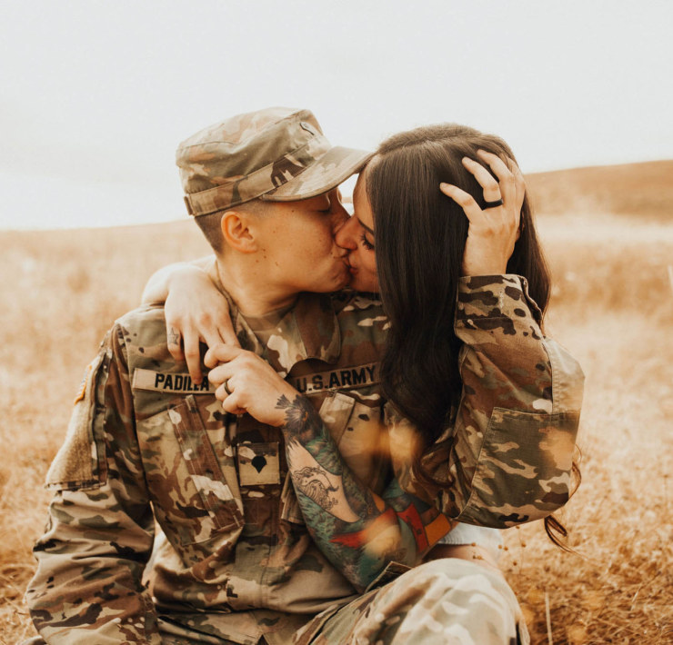 Overcoming Military Deployment for Love - Colorado Engagement Photography - Dancing With Her