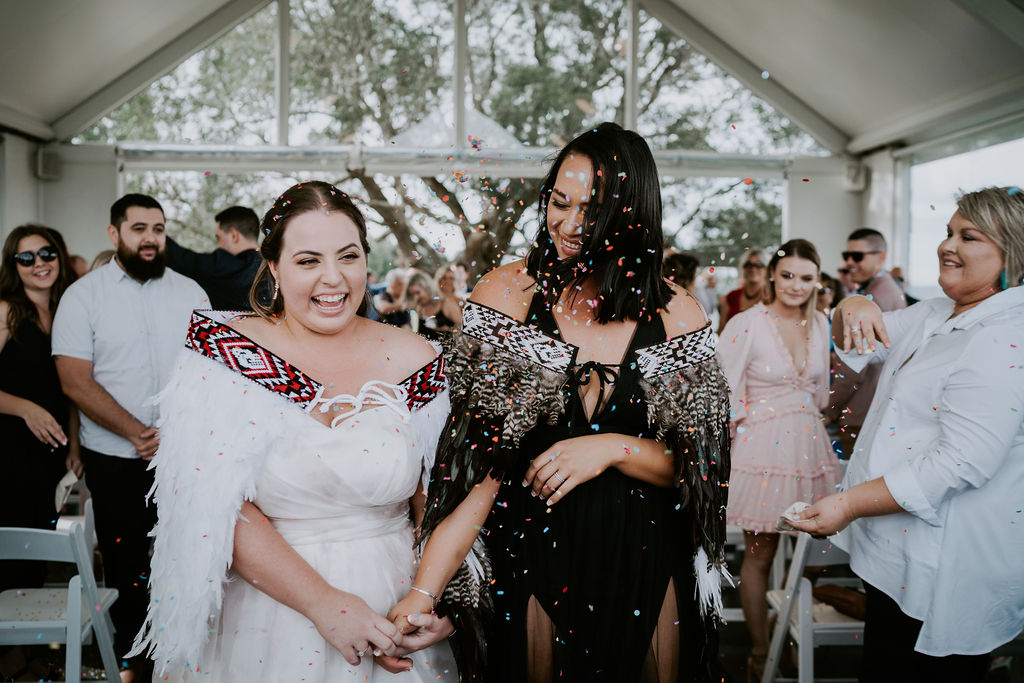 Queenland Lesbian Wedding - Two Brides - E.L Simpson Photography