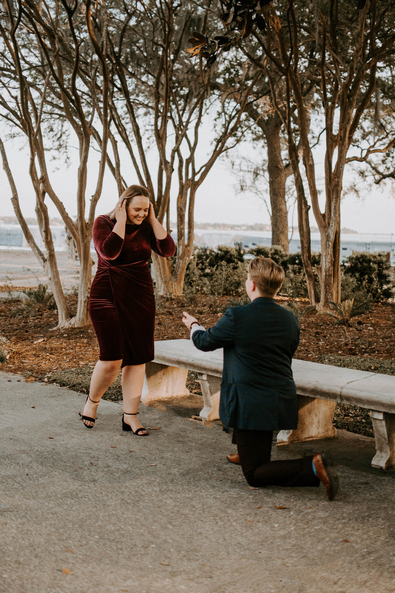 Queer Park Proposal - Engagement Photography Session - Yazi Davis - LGBTQ