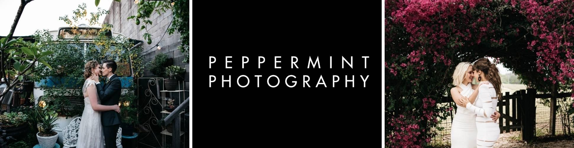 Peppermint Photography Brisbane featured vendor website badge