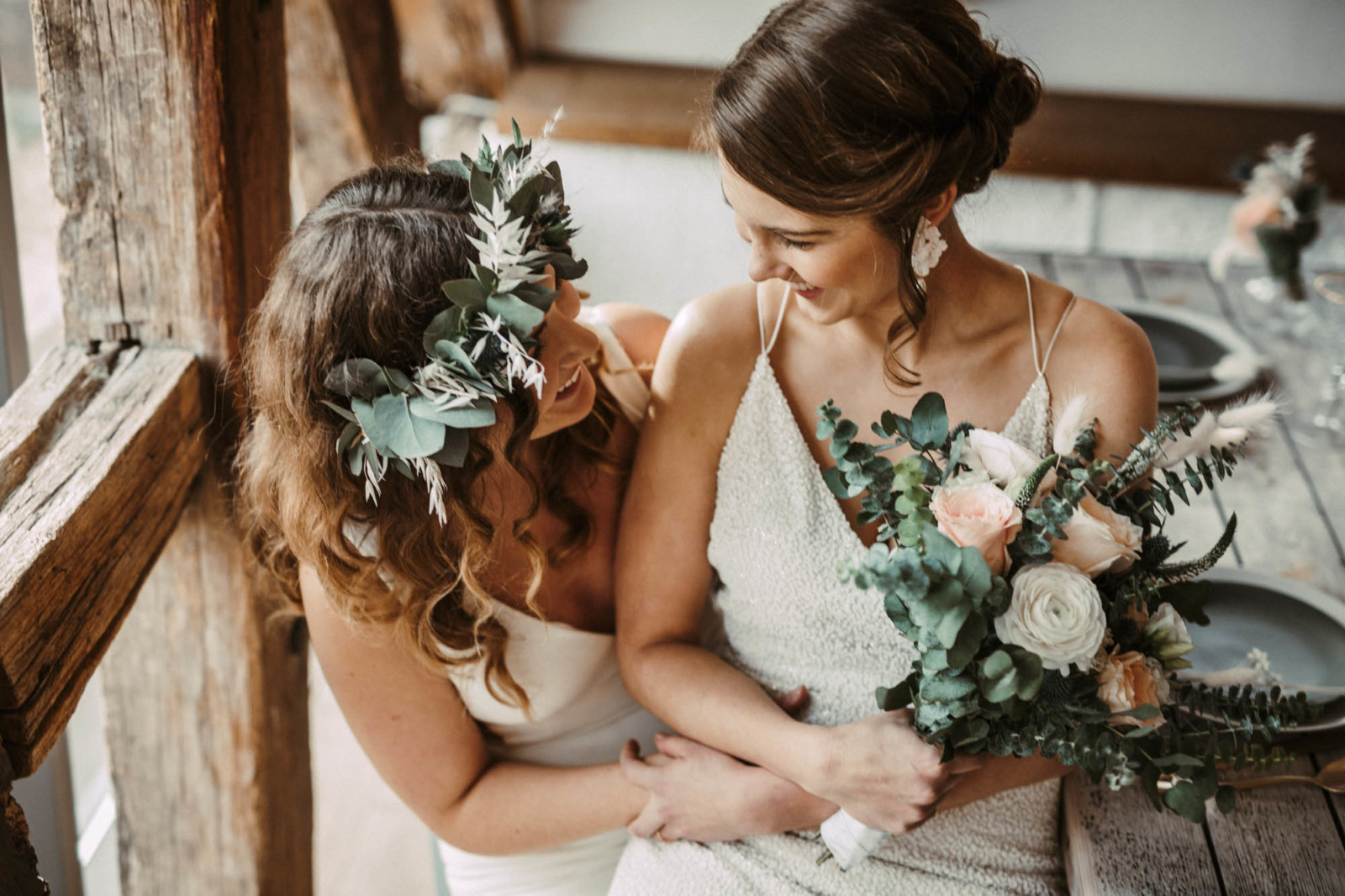 Same-Sex Wedding inspiration in Germany - Lesbian Wedding - Dancing With Her