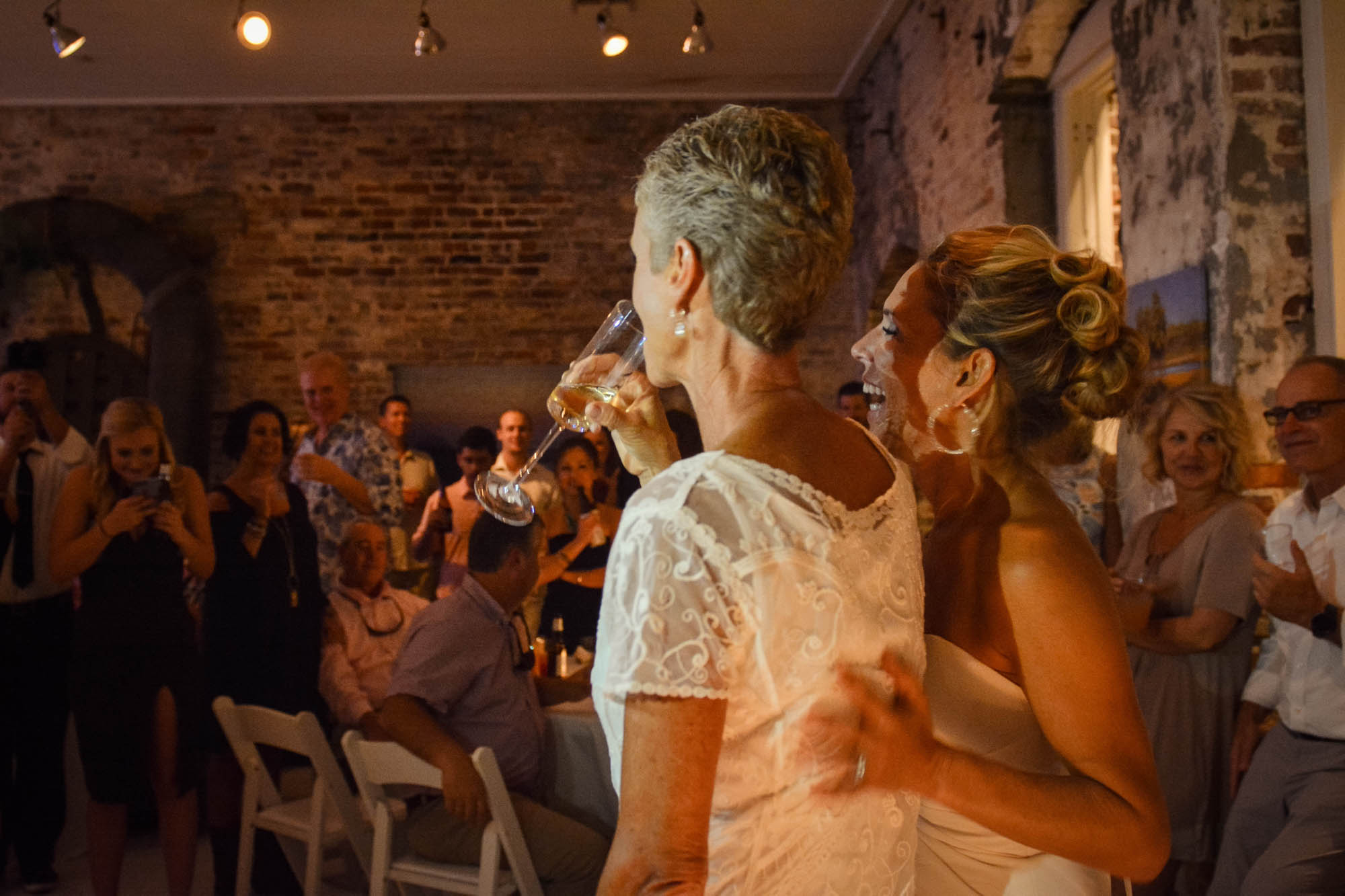 Surprise Lesbian Wedding - Dancing With Her (1)