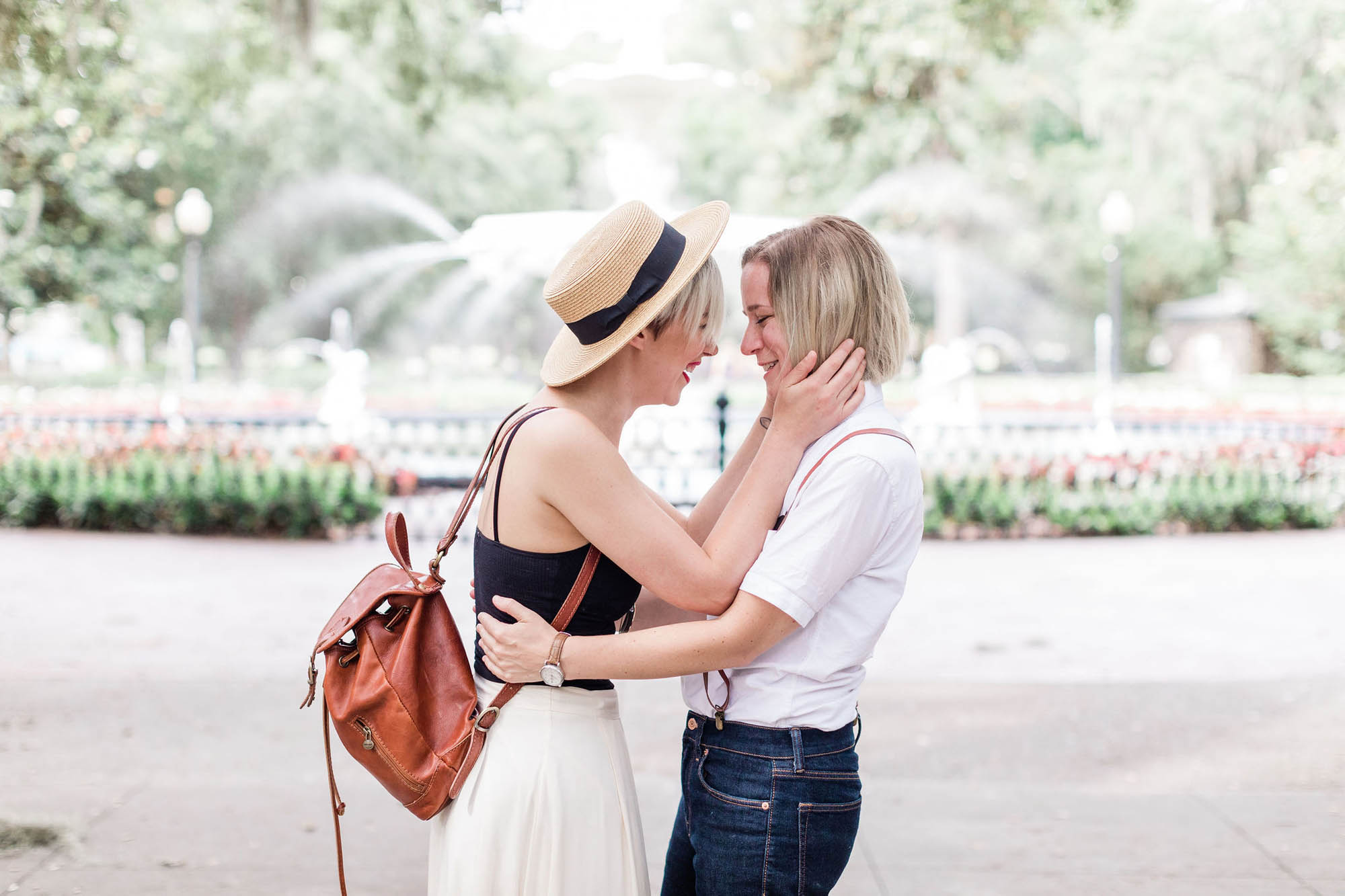 Surprise Proposal in a Park - Lesbian Engagement - Dancing With Her