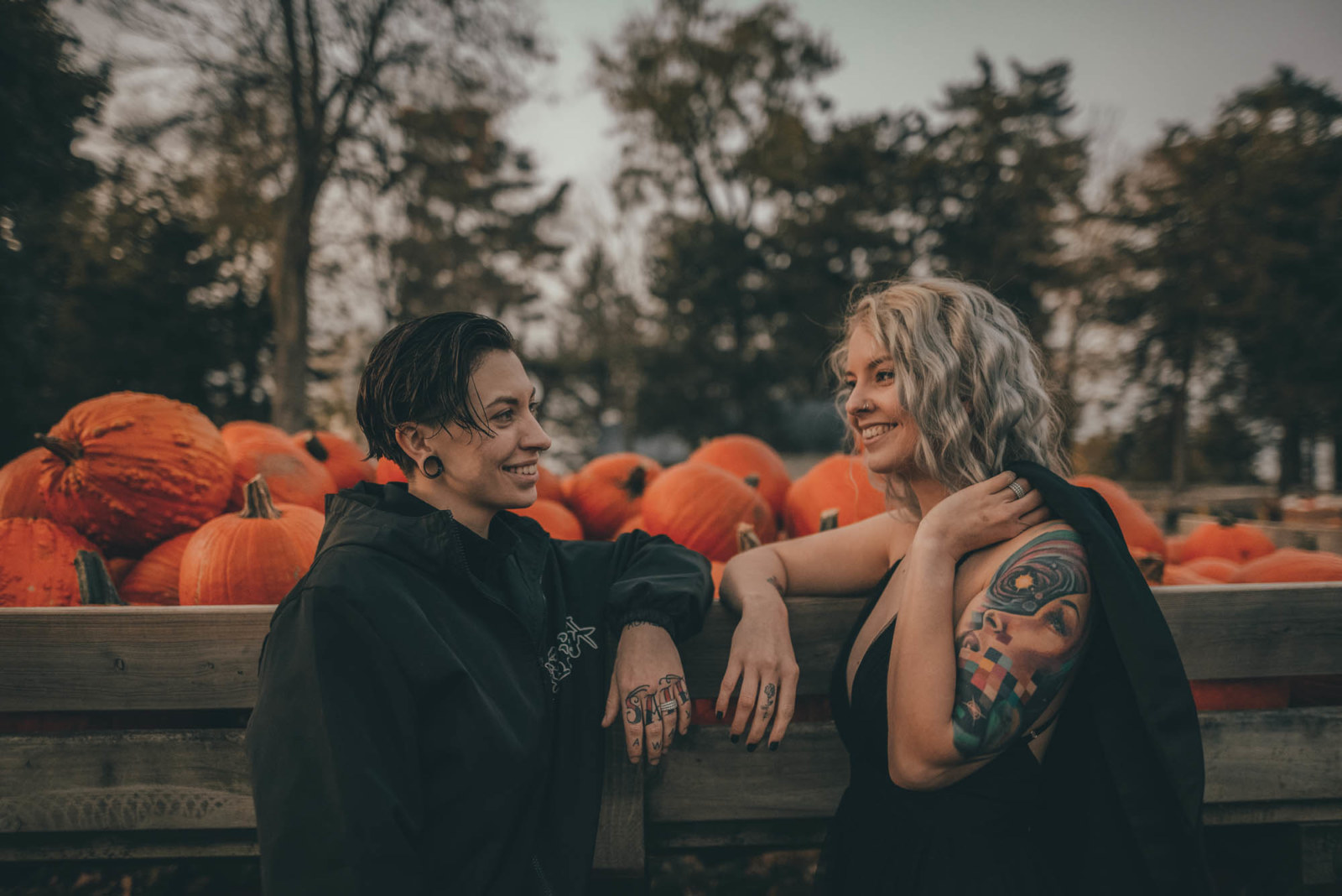 Thanksgiving Lesbian Proposal - Dancing With Her