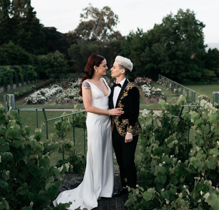 Chloe May Photography - Yarra Valley Lesbian Wedding - Dancing With Her