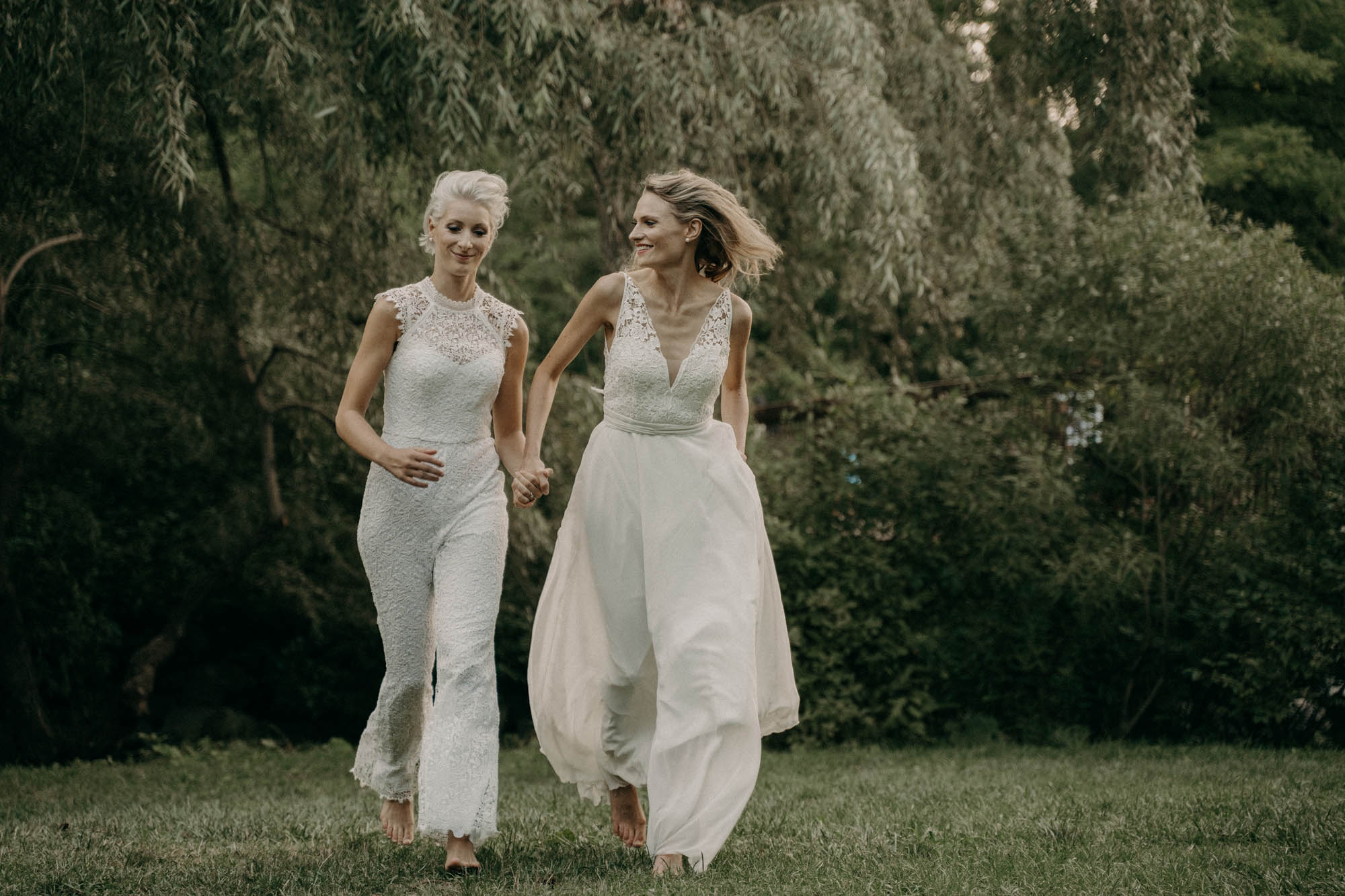 Toronto Wedding Photography - COVID Wedding - Two Brides - Dancing With Her