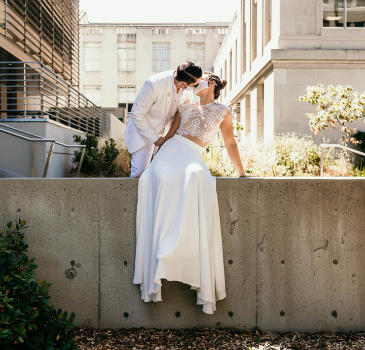 UC Berkeley Lesbian Elopement - Liv With The Lens - Dancing With Her