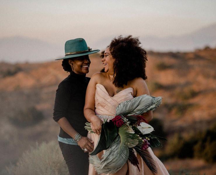 A Fun Alternative Lesbian Elopement - California - Dancing With Her