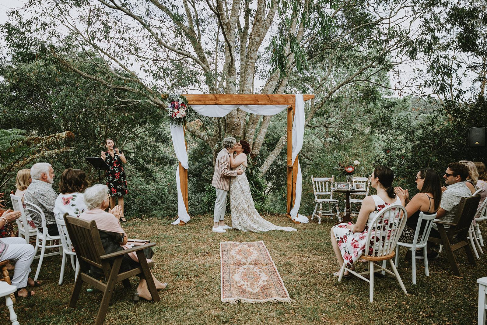 Adriana Watson Photography Brisbane Queensland lesbian vintage farm wedding Dancing With Her