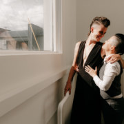 Chelsea Terry Photography non-binary queer wedding United States of America Dancing With Her magazine